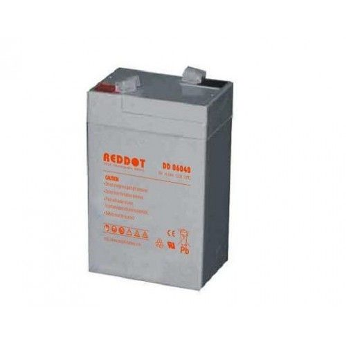 6V-os 4,0 Ah RedDot zselés akkumulátor (Acorn, Scoutguard vadkamerához és etető szórófejhez)