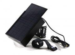 ECO 12V acél házas napelemes tápegység (12 V külső tápellátású kamerákhoz)