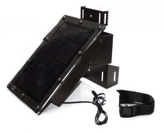 Acél házas napelemes tápegység (6 V külső tápellátású kamerákhoz, 3,4Ah)
