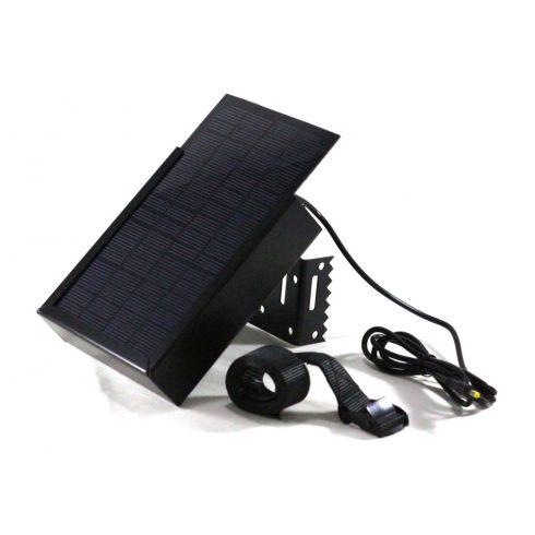 ECO 6V acél házas napelemes tápegység (6 V külső tápellátású kamerákhoz)