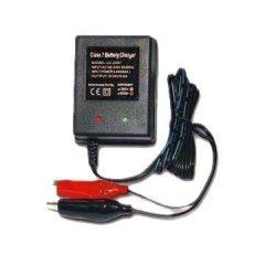 12V-os zselés akkumulátor töltő (0,3A töltőáram)