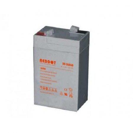 6V-os 4,0 Ah zselés akkumulátor (vadkamerához és etető szórófejhez)