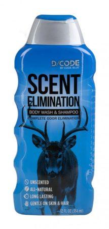 D/CODE illatmentes szagtalanító tusfürdő és sampon egyben (354ml)