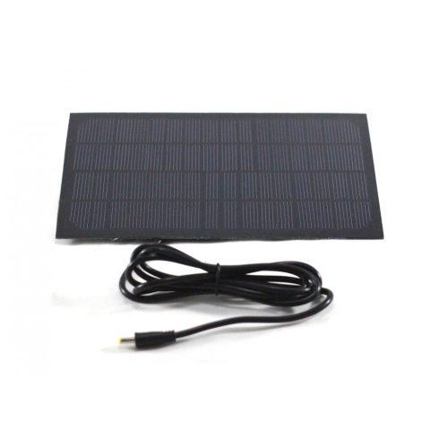 Napelem panel (6 vagy 12V, DC kábellel vagy anélkül)